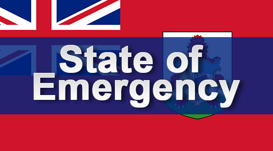 State Of Emergency Declared
