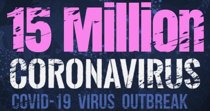 Over 15 Million Cases Worldwide