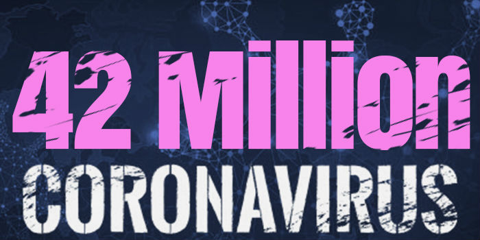 Over 42 Million Cases Worldwide