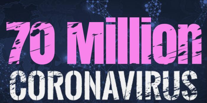 Over 70 Million Cases Worldwide
