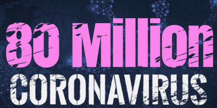 Over 80 Million Cases Worldwide
