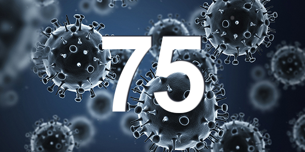 75 Active Cases Is A New Record High