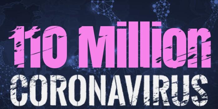 Over 110 Million Cases Worldwide