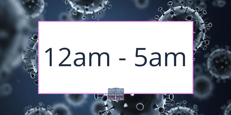 Curfew Changes To 12am Until 5am