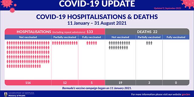 Govt Release Vaccination Hospitalisations & Deaths Statistics